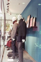 Men's Fashion Front Window Sidelook