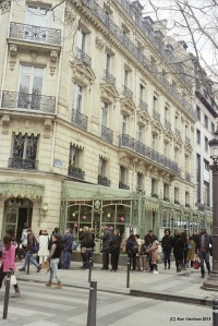 Laduree flagship shop and cafe, Champs Elysees, Paris