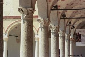 Cornithian Columns, Castello Sforzesco, Milano