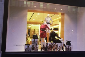 An Open View into Burberry Shop