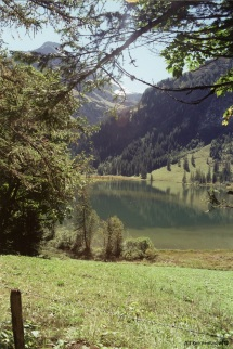 Lake Lauenen with Reflections (Gstaad)