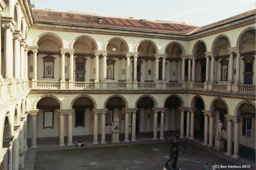 Pinacoteca di Brera Inner Court, Milano