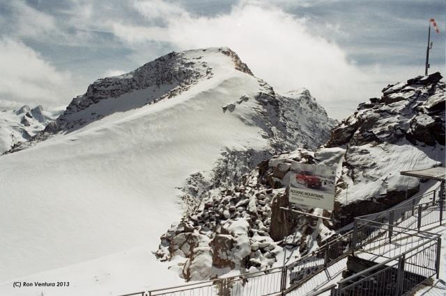 Snow Terrace atop Corvatsch (St. Moritz)