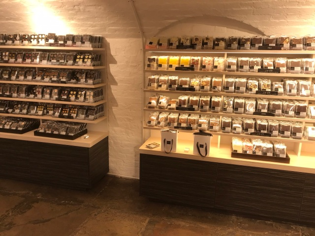 Appetising Selection of Chocolates at Hotel Chocolat