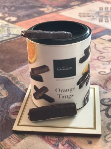 Delicious Orange Tangs by Hotel Chocolat