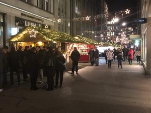 Christmas Market near Globus
