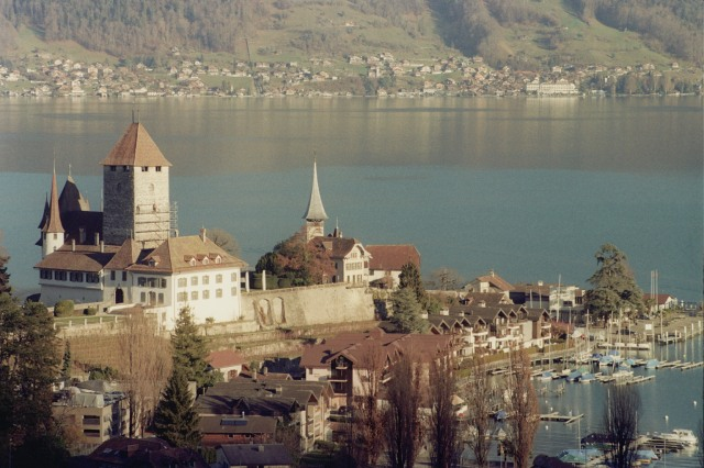 Castle and Lake (Spiez)