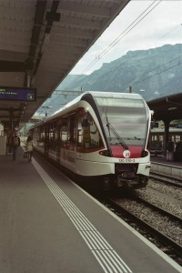 Panoramic Train, Interlaken